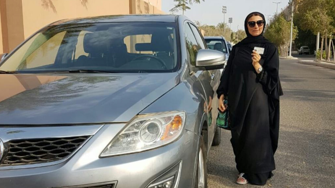 Saudi Women with Driving Licence